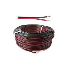 Cavo filo Multipolare Doppino Piattina Sezione 2x0,25 mmq Rosso Nero