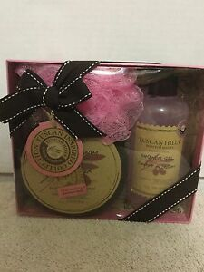 Tuscan Hills Body Care Collection 3 Piece Gift Set Shower Gel Body Butter