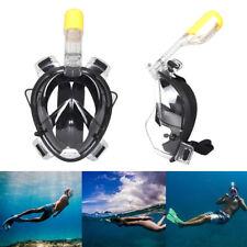 dults Full snorkel 180°View Scuba Snorkeling Diving S/