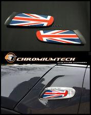 2014 + F55 F56 MK3 MINI Cooper/S/ONE Union Jack Side Turn Signal Scuttles Insert
