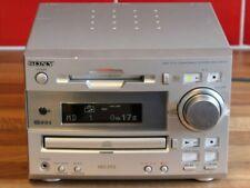 Sony DHC-MD313 CD / MiniDisc Hifi Compact Shelf Stereo