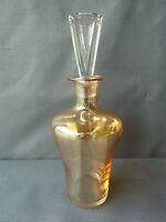 Antigua jarra de cristal de color estilo art déco vajilla french antiguo