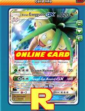 Alolan Exeggutor GX - Regular Art - for Pokemon TCG Online (ptcgo in Game Card)