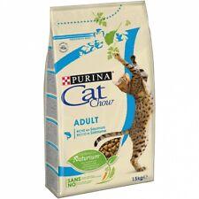 Pienso con Función Digestiva PURINA CAT CHOW SALMÓN Y ATÚN para Gatos Adultos