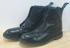 Solovair 8 Hole Blue Label Boots Uk11 Made In England.Excellent
