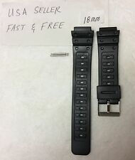 18mm passend für Casio G Shock dw-5600c dw-5000 dw-5400c swc-05 Watch Band PVC