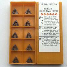 10pcs 11ir A60 Bp1125 Internal Threading Carbide Insert For Lathe Turning Tool