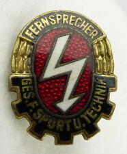 GST654a vgl. Band VII Nr. 654a in Gold Fernsprech Leistungsabzeichen 1958-1964