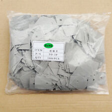 1000 X Thermal Insulator Silicon Rubber Pad TO-3P size=25x20x0.3mm RoHS Uni-Home