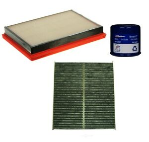 Engine Oil Air Carbon Cabin Filter Kit ACDelco Pro for FX35 QX70 3.7 3.5 V6