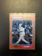 2020 TOPPS ARCHIVES Sammy Sosa RED FOIL PARALLEL #1/5 Chicago Cubs MINT #175