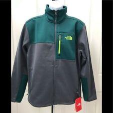 The North Face Mens Apex Risor Softshell Jacket Coat gray Green NWT XL windproof