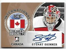 2016-17 Leaf ITG H&P International Ice Stuart Skinner Bronze Auto RC Oilers