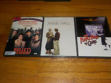 Woody Allen Dvd Lot Annie Hall / The Purple Rose of Cairo/ Bullets Over Broadway