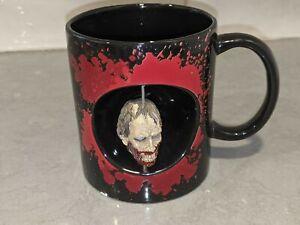 THE WALKING DEAD Spinning Walker/Zombie Head Coffee Mug/Cup by Just Funky 2015