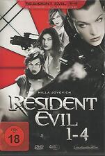 DVD - Resident Evil 1-4 (Die Umbrella Quadrologie) 4-DVD`s / #666