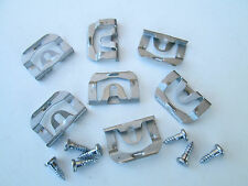 Fits 1970-1981 Trans Am Camaro Rear Glass Reveal Moulding Clips with Screws