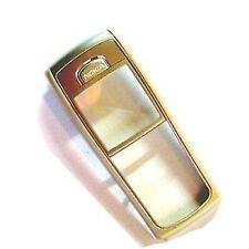 100% Original Nokia 6230 frontblende gehäuse+glasdisplay silber champagner gold