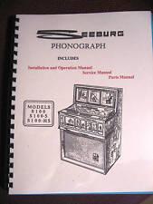 Seeburg Model S100  S100-5  S100-H5  Jukebox Manual