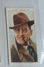 #30 stanley holloway - Radio celeb cigarette card