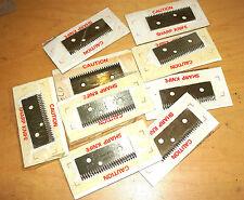10 Blades 2016845 2014755 England Sharp Knife Shear Cutter Cut Seal Machine lot