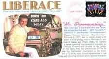 "COVERSCAPE computer designed 100th anniversary birth of ""Liberace"" event cover"