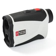 GOLFLASER.de Birdie 1300 Pro | weiß | RocketGolf Golf Laser Entfernungsmesser