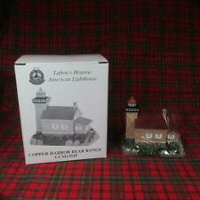 Lefton's Historic American Lighthouse, Copper Harbor, Mi Mint in Box, 2000