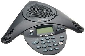 Polycom 2200-16200-001 SoundStation 2 Expandable Display Conference Phone