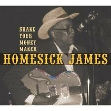 "JAMES HOMESICK ""SHAKE YOUR MONEY MAKER"" CD NEUWARE"