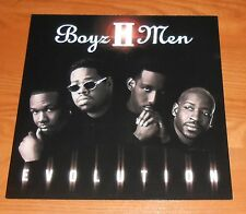Boys II Men Evolution 2-Sided Flat Square 1997 Promo Poster 12x12 RARE