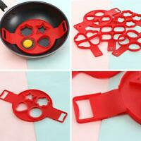 Silikon Ei Pfannkuchen Form Ring Küche Omelett Pfannkuchen Pancake Maker Backen