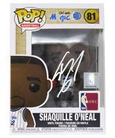 Shaquille O'Neal Signed Orlando Magic NBA Legends Funko Pop Doll - SCHWARTZ COA