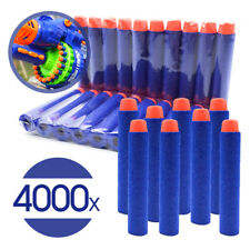 4000 Round Head Bullet Darts Blasters For NERF N-Strike Refill Kid Toy Gun
