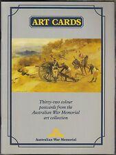 Australian War Memorial Art Cards: 32 Postcards from the Art Collection (1984)