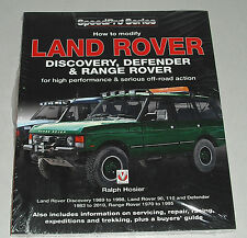 Handbuch Offroad Modifikation Land Rover Discovery + Defender + Range Rover