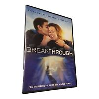 Breakthrough (DVD, 2019) Brand -New- Factory Sealed - Fast Shipping Daily
