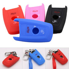 Silicone Remote Flip Key Cover Case Fob Fit for BMW 1 3 5 7 SERIES X1 X3 X4 X5