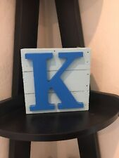 Custom wooden decorative letters