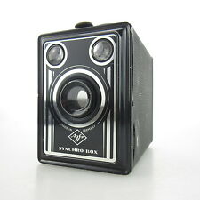 Agfa Synchro Box Tengor Boxkamera Box Kamera box camera