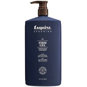 Esquire Grooming The firm Gel Strong Hold High Shine With Oud Fragrance 25 Oz