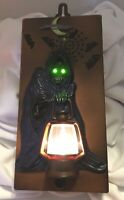 Talking Scary Noisy Grim Reaper Doorbell Toy State Halloween Light Up1995