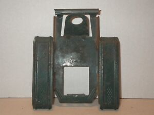 Vintage Steel Pressed Toy Green Trailer Frame Body Part