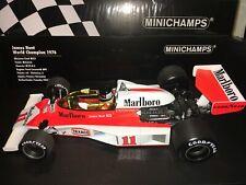 1:18 Minichamps #186760011 James Hunt McLaren M23 1976 - World Champion MARLBORO