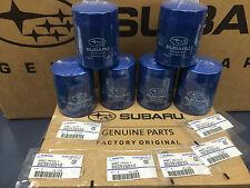 OEM Subaru Engine Oil Filter & Gasket 15208AA15A Geniuine Impreza Legacy (6 PACK