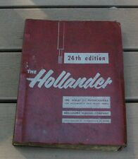 1958 Hollander 24th Edition Interchange for Automobile & Truck Parts