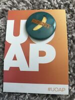 UOAP Button October 2020 RESIST THE BANANA MINIONS Universal Orlando - RARE