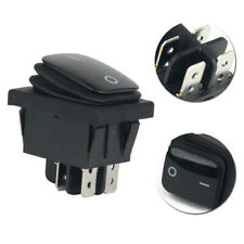 1pcs 4 Pin 12V Waterproof Car Black Round Rocker ON/OFF SPST SWITCH Accessories
