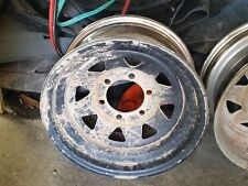 ford raider steel wheels 2 off 15 inch hilux patrol triton  2 with tyres