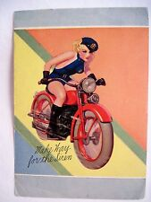 Enoch Bolles Blonde Cop Whizzing On a Motorcycle - Make Way for the Siren *